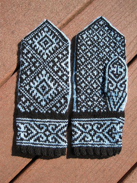 nordic knitting little church knits