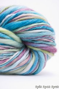 Blue Variegated Hand Spun on Etsy