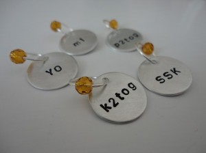 K2tog Stitch Markers on Etsy