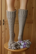 Rhiannon Socks by Cookie A