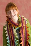 Sawtooth Edge Scarf by Susan Mills