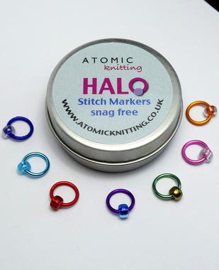 Halo Snag-Free  Stitch Marker