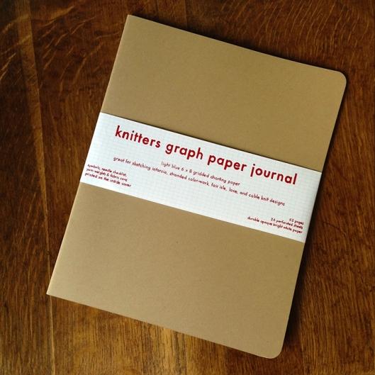 Knitter's Graph Paper Journal