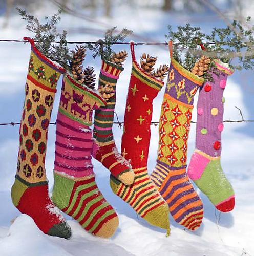 Kristin's Creative Christmas Stockings by Kristin Nicholas