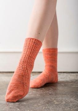 Bella's Truck Socks by Rachel Coopey