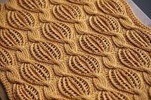 Golden Dreams scarf by Katya Wilsher