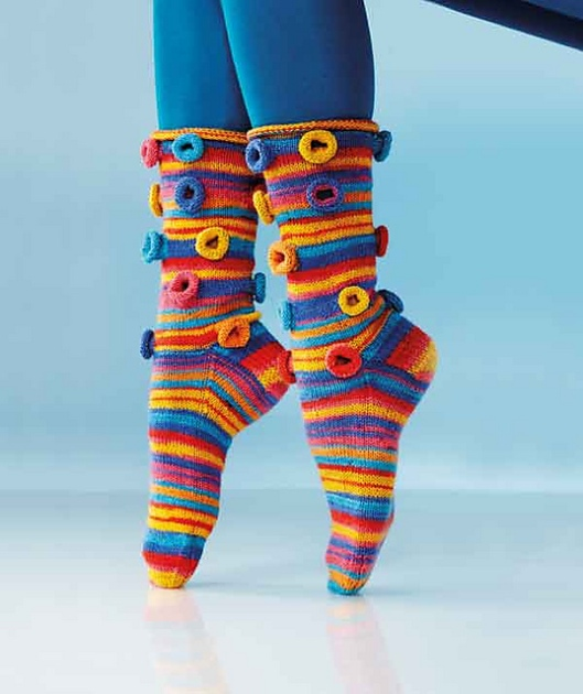 R0168 Holy Moly Sock by Charles D. Gandy