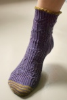 TTL Mystery Sock 2014 by Kirsten Kapur
