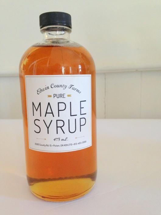 Edwin County Farm Maple Syrup