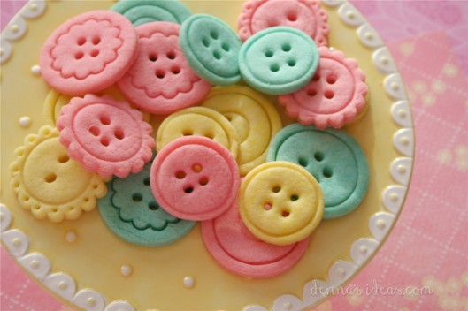 Denna's Button Cookies