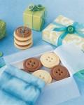 Martha Steward Button Cookies