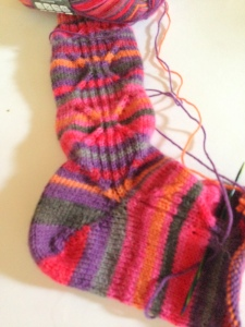 Kaleidoscope Socks