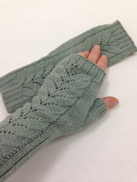 Barn Swallow Fingerless Gloves