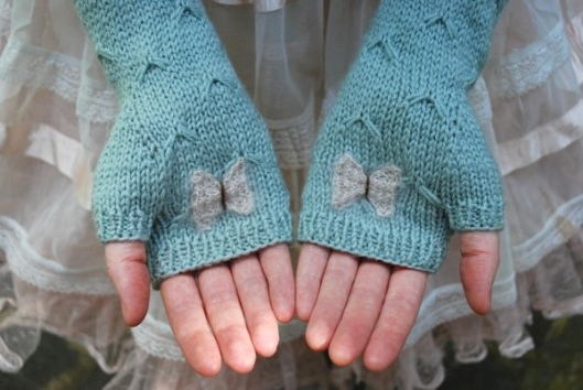 catching butterflies by tiny owl knits