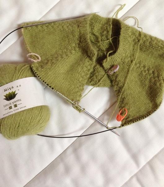 Minky Baby Sweater